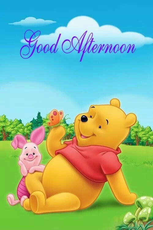 Good Afternoon | Good Afternoon | Winnie the pooh, Winnie the pooh ...