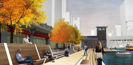 Galeria - Projeto Chicago Riverwalk: recuperar o rio - 8