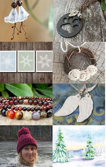 Pretty gifts for Christmas by Daniela Varga on Etsy--Pinned with TreasuryPin.com