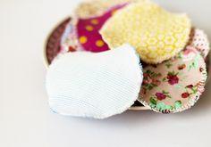 DIY | Waschbare Abschminkpads nähen | Alternative zu Wattepads | Green Bird