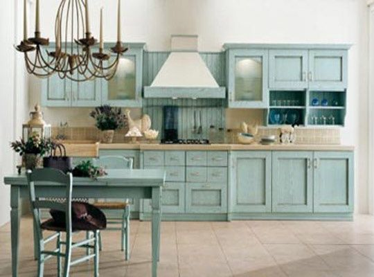 Light Blue Kitchen Awesome The Crystal Cabinet Accessories In This Kitchenclassy Design Ideas