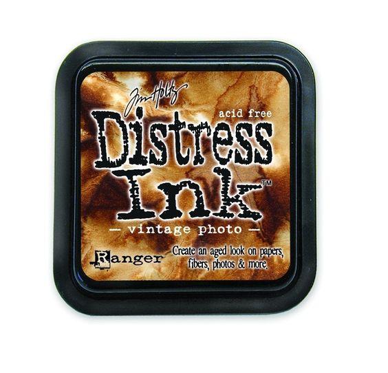 Ranger Tim Holtz Distress Encre Pad-Vintage Photo: Amazon.fr: Cuisine & Maison