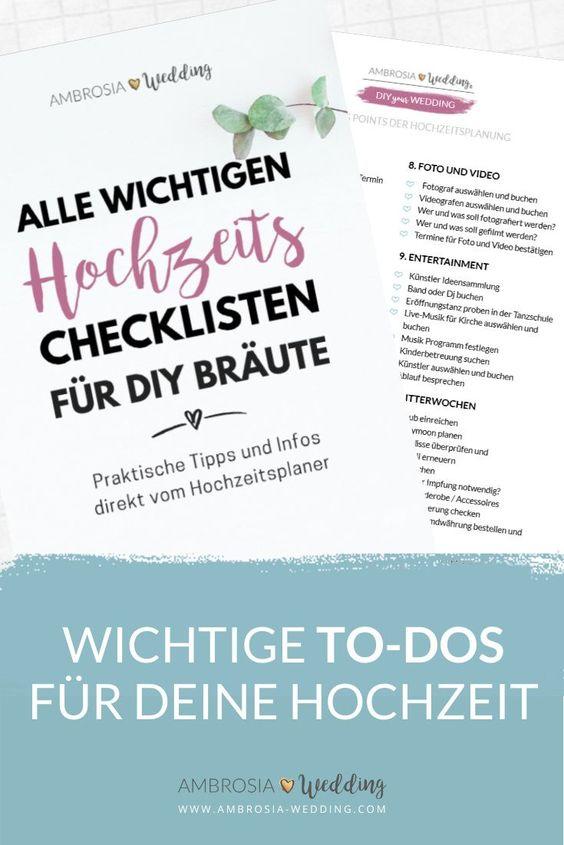 Checkliste Hochzeit Das Buch Mit Den Wichtigen Hochzeitschecklisten Checkliste Hochzeit Hochzeitscheckliste Checkliste