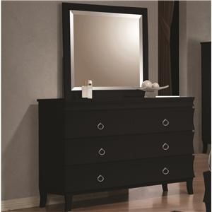 Holland Casual Six Drawer Dresser and Mirror Combo I like this one without the mirror.