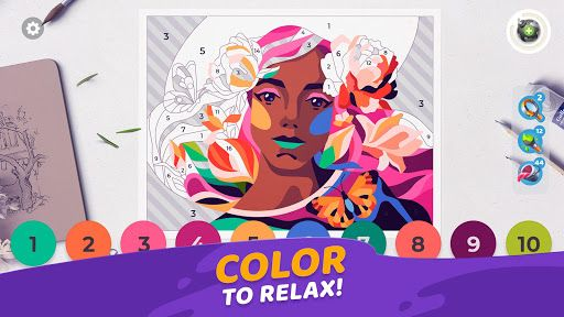 Gallery Coloring Book Decor V0 241 Mod Apk In 2021 Book Decor Coloring Books Color