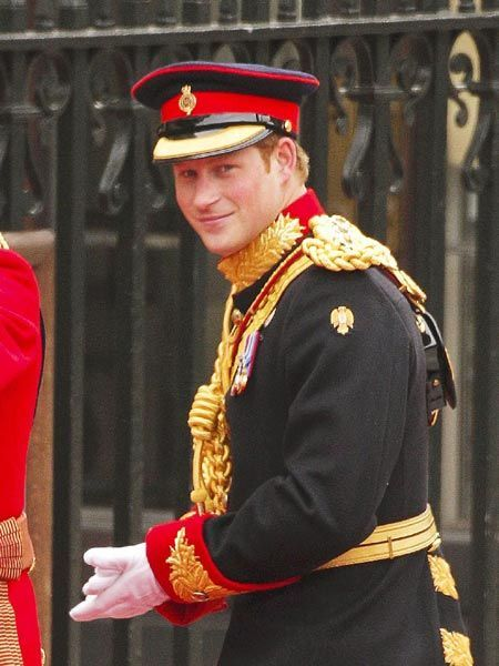 A Prince.  And a man in uniform.  Too, too much.