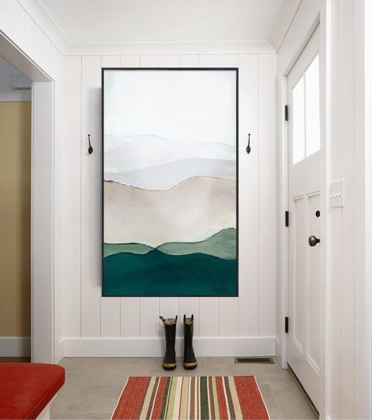Large Abstract Paintingmodern Abstract Paintingoriginal Etsy In 2020 Large Canvas Wall Art Entryway Art Large Abstract Painting