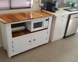 He Turned Old Wood Pallets Into A Stunning Kitchen Cabinet