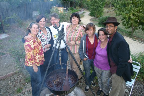 Good times with Zin Farm hosting a Smokestack Lightning dinner