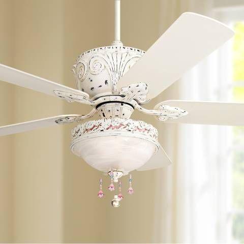 52 Casa Deville Antique White Light Kit Ceiling Fan 11h21 Lamps Plus Ceiling Fan With Light Ceiling Fan White Ceiling Fan White ceiling fan light kit