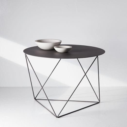 Amigo Modern Octahedron Coffee Table Side Table Modern Side