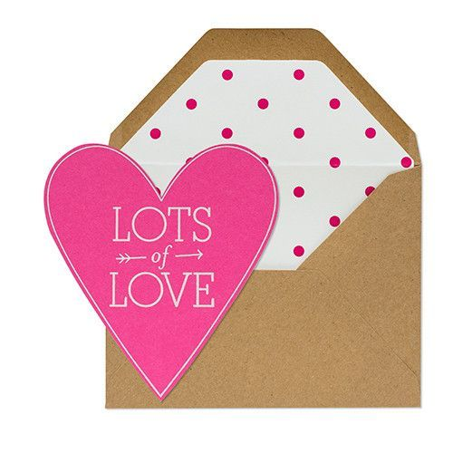 Lots of Love Heart Card