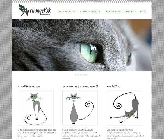 www.gatti-bludirussia.it  Allevamento amatoriale gatti Blu di Russia | website by JollaWEB