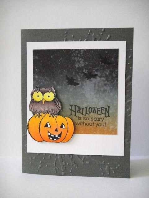 Penny Black Scary Halloween