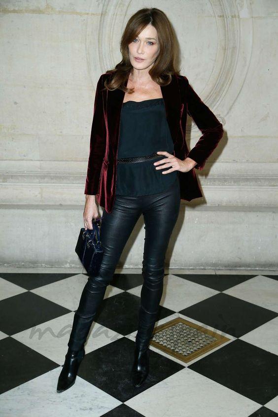 Paris Fashion Week: Estilazo en el Front Row - Carla Bruni