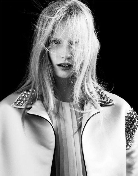 Katrin Thormann by Markus Pritzi for Sleek Magazine