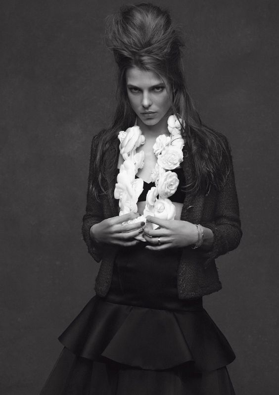 Charlotte Casiraghi + chanel