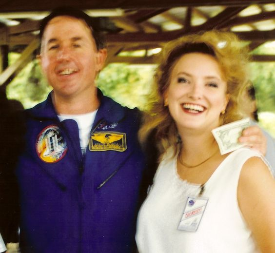 Steve Robinson, 36-year-veteran of NASA retires to be a professor at the University of California at Davis in the fall (2012) Here I am with him before STS-95.: Robinson 36, Nasa Retires, Fall 2012, Year Veteran, People I Ve, Sts 95, Space People