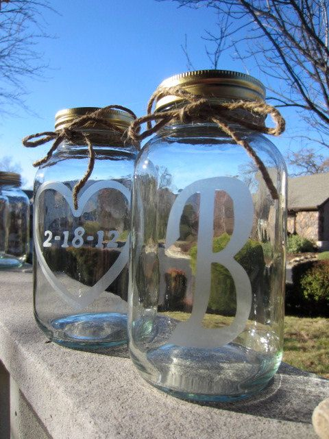 ETCHED MASON JARS, Malissa can you make these for me? 4-4-10  M...!