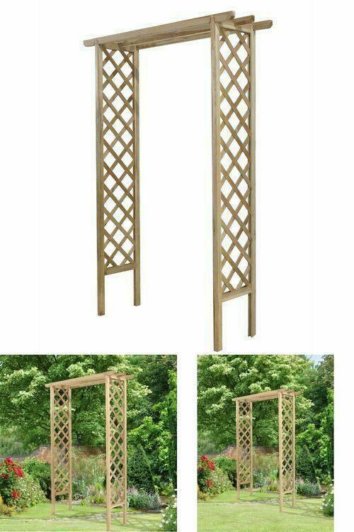 Wooden Garden Climbing Arch Pergola