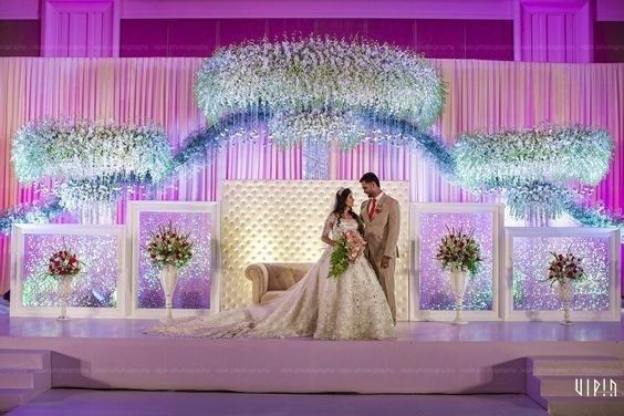 40 Best Wedding Reception Stage Decoration Ideas For 2018 Wedding Stage Backdrop Wedding Stage Design Indian Wedding Decorations Receptions