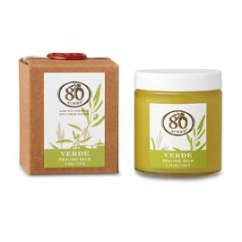 Lemon goodness for your elbows and toes. Delish. McEvoy Ranch Verte Olive Oil Body Balm.