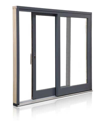 Extension door munster joinery aluclad ecoclad for Sliding glass doors extension