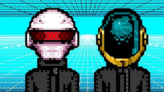 Listen to two full albums of Daft Punk songs, remixed as Nintendo soundtracks
