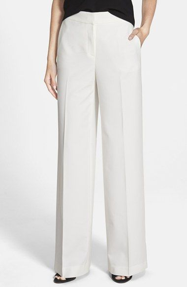 Wide leg pants, Flats and Nordstrom on Pinterest
