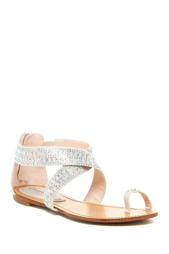 Willa Embellished Sandal by Lauren Lorraine on @nordstrom_rack