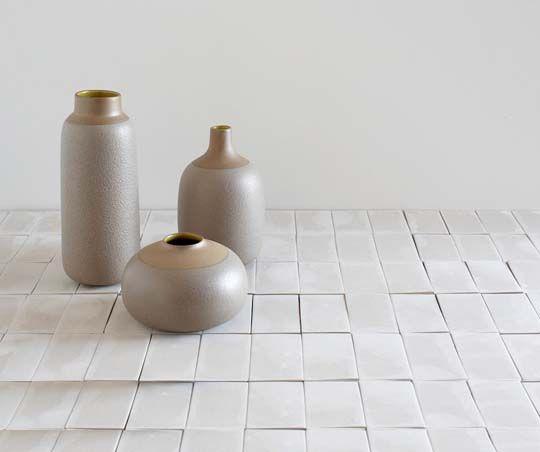 Heath Ceramics bud, bulb, and multi stem vases.: Sf Tour, Ceramics Pottery, Stem Vases, Ceramics Bud, Heath Ceramics, Tour Heath, Heath Factory, Ceramic Tiles