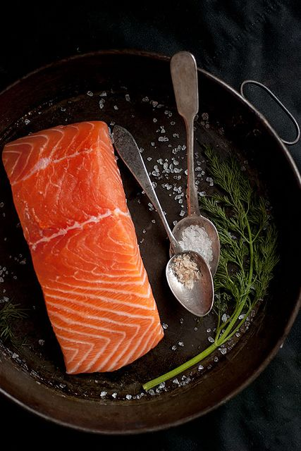 Smoked salmon salts and raw salmon on pinterest for Salt cured fish