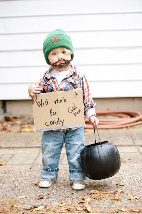 Halloween Bum, Halloween costume, boys halloween costume: