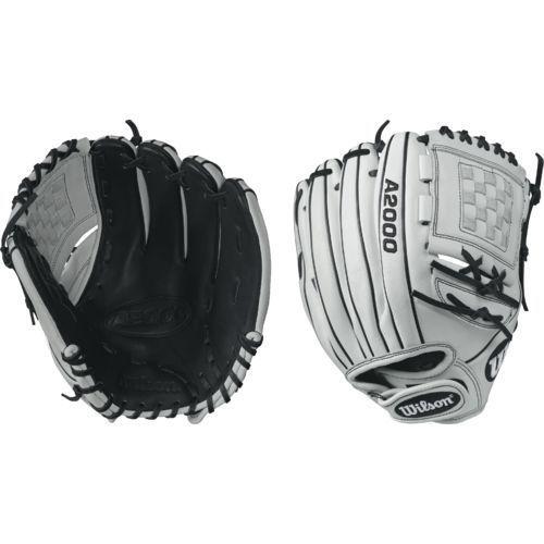 Wilson A2000 P12 Super 12 Fast Pitch Pitcher S Glove White Black Baseball Equipment Softball Baseb Pitchers Glove Softball Gloves Fastpitch Softball Gloves