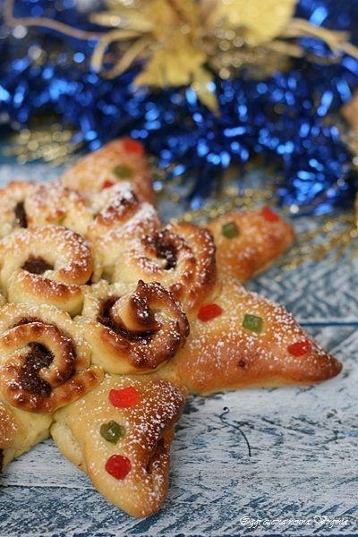 Brioche stella di Natale,Oggi cucina nonna Virginia