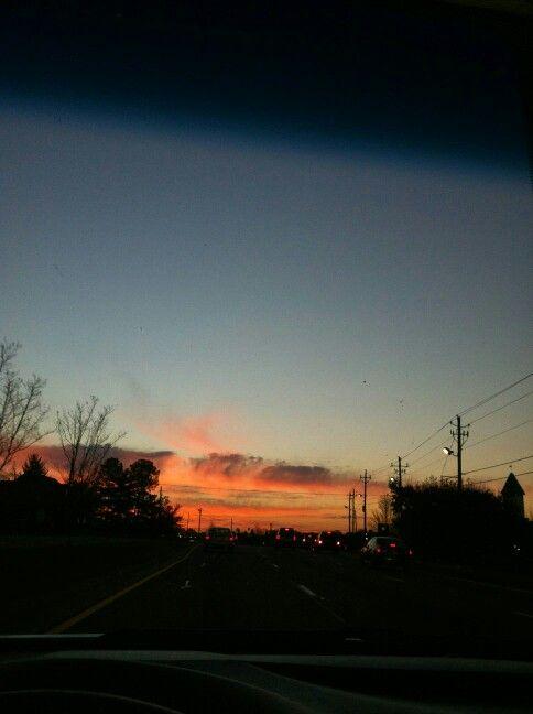 Sunrise in Roswell, Ga?