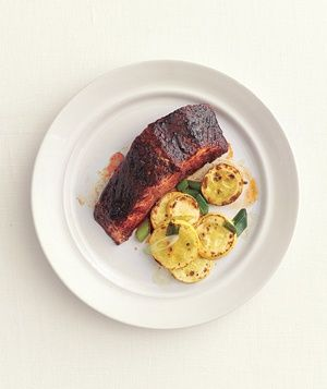 Salmon With Sweet Chili Glaze recipe