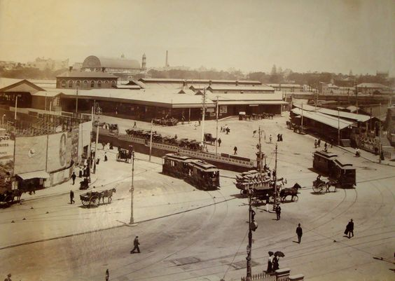 Central Railway Station, Sydney, Australia, 1905
