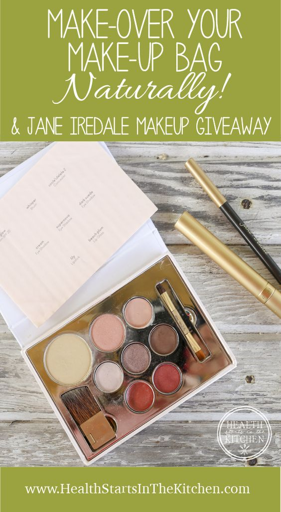 Make-over your Make-up Bag, Naturally..... with a Jane Iredale Giveaway!