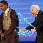"Barack Obama Funy Pictures ""McCain Emperor Obama Jedi"" #BarackObama"