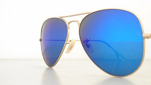ray ban sonnenbrille frauen aviator blau