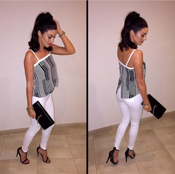 #Stripes #glam