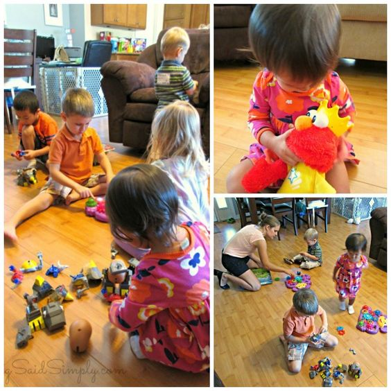Play Date Tips with Playskool + Recipe #ImagineWithElmo | SavingSaidSimply.com