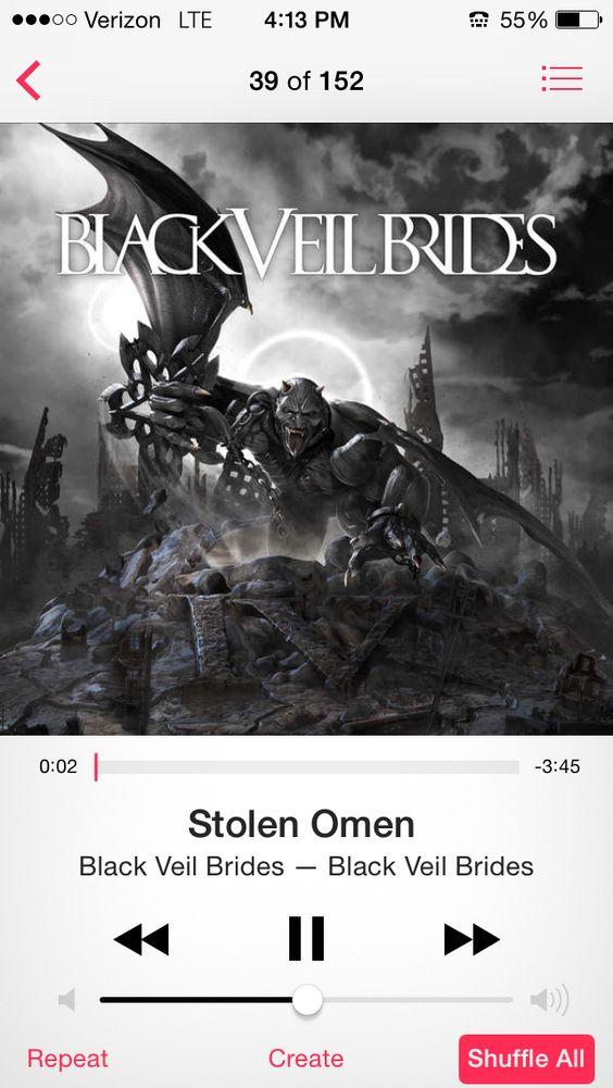 Stolen Omen-Black Veil Brides