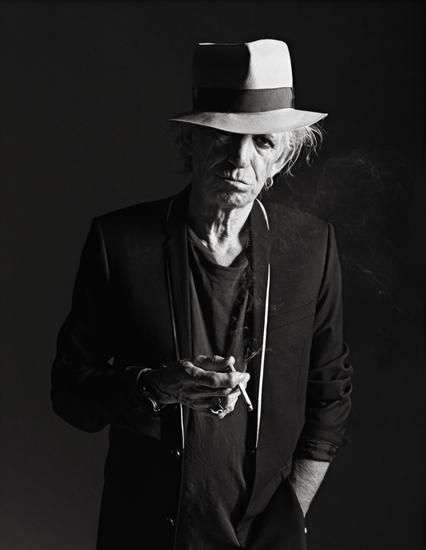 Richards should play the Joker - Keith Richards by Mario Sorrenti.