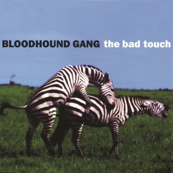 Bloodhound Gang – The Bad Touch (single cover art)