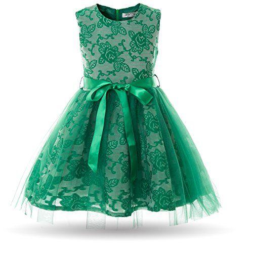 Cielarko Girls Dress Children Tulle Birthday Party Prom D...