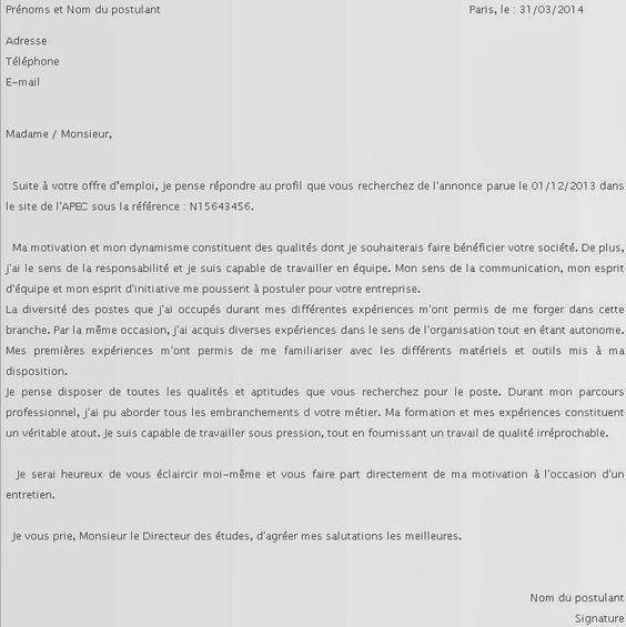 Lettre De Motivation Emploi Saisonnier Modele Cv Lettre Exemple Lettre Motivation Lettre De Motivation Emploi Lettre De Motivation