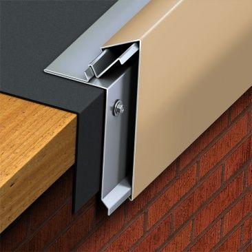 Best Snap Edge Fascia Architectural Metal Roofing Fascia 400 x 300