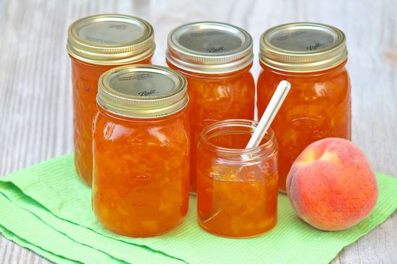 Classic Peach Jam -- so simple with these easy-to-follow instructions